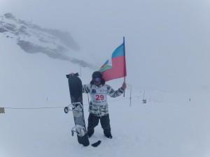 Yannis ROY - 1er Championnat Haïtien de Ski - 2012